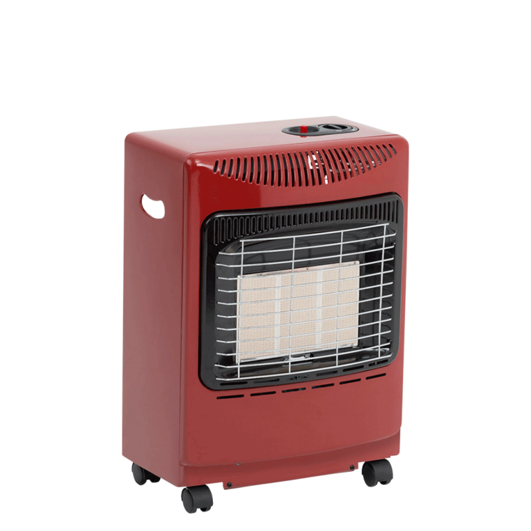 Mini Radiant Heater Red Portable Gas Heater Boltons
